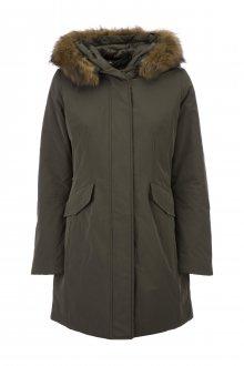 Geox dámský kabát_zelená\n\n