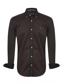 Sir Raymond Tailor Pánská košile SI8720804_Brown\n\n