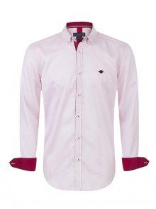 Sir Raymond Tailor Pánská košile SI9527304_White / Bordeaux\n\n