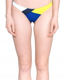 Spodní díl plavek Tommy Hilfiger | Modrá Žlutá Bílá | Dámské | XS