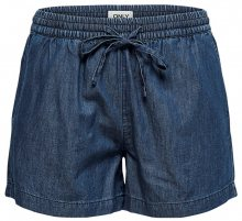 ONLY Dámské kraťasy Pena Dnm Shorts Box Medium Blue Denim XS