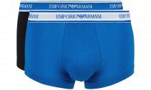 Boxerky 2 ks Emporio Armani | Černá Modrá | Pánské | S
