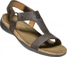 KEEN Dámské sandále Kaci Ana T-Strap Sandal W Dark Earth 37
