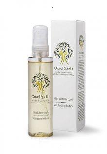 Oro di Spello Hydratační tělový olej z extra panenského olivového oleje pro všechny typy pokožky (Moisturizing Body Oil) 150 ml