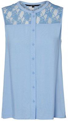 Vero Moda Dámská halenka Abby S/L Shirt A Vista Blue M