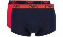 Boxerky 2 ks Emporio Armani | Modrá Červená | Pánské | XXL