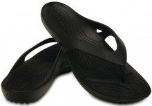 Crocs Dámské žabky Kadee II Flip Black 202492-001 36-37