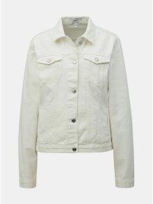 Bílá džínová bunda Dorothy Perkins Tall