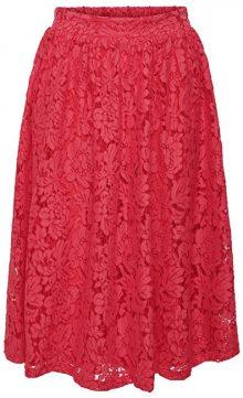 ONLY Dámská sukně Skylar Midi Skirt Wvn Geranium 36