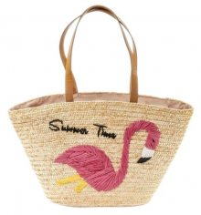 Verde Dámská taška 48-0009 Straw Natural