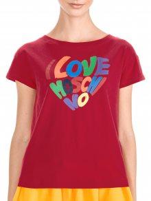 Triko Love Moschino   Červená   Dámské   XL