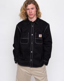 Carhartt WIP Chalk Shirt Jac Black Rigid L