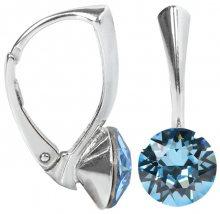 Troli Stříbrné náušnice Xirius Aquamarine