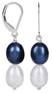 JwL Luxury Pearls Stříbrné náušnice s pravými perlami JL0501