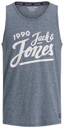 Jack&Jones Pánské tílko Jorquinn Tank Top Total Eclipse S