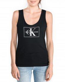 Monogram Tílko Calvin Klein | Černá | Dámské | L