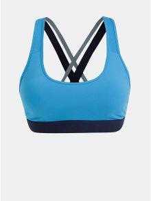 Modrá sportovní podprsenka adidas Performance Don\'t Rest