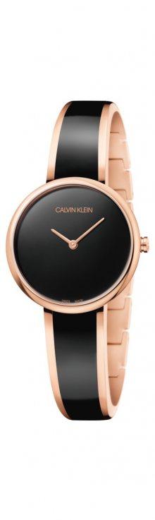 Seduce Hodinky Calvin Klein | Černá Zlatá | Dámské | UNI