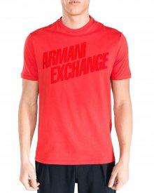 Triko Armani Exchange   Červená   Pánské   L