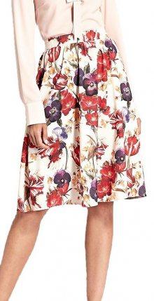 Dámská květinová sukně