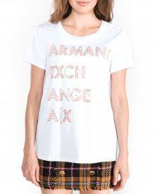 Triko Armani Exchange | Bílá | Dámské | L