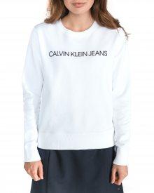 Mikina Calvin Klein   Bílá   Dámské   L