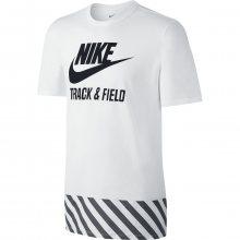Nike Tee-Ru Futura Hazard Tee bílá L