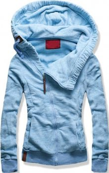 Baby blue mikina D352