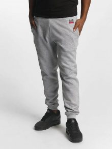 Sweat Pant Twoblock in gray XL