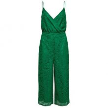 ONLY Dámský overal Cassia Strap Cropped S/L Jumpsuit Wvm Ultramarine Green 34