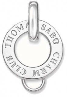 Thomas Sabo Stříbrný kroužek na přívěsky X0016-001-12