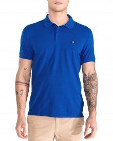 Polo triko Calvin Klein | Modrá | Pánské | L