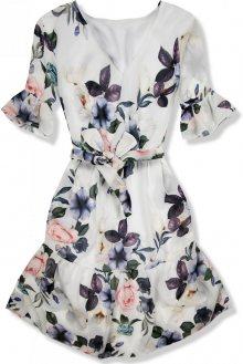 Květinové šaty s volány Sylvia