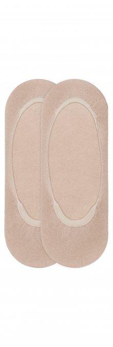 Ponožky 2 páry Tommy Hilfiger | Béžová | Dámské | 35-38