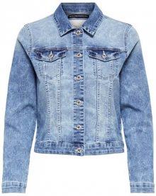 ONLY Dámská bunda New Chris Ls Dnm Jacket Bb Pim Wash B Light Blue Denim 36