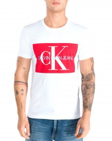Triko Calvin Klein | Bílá | Pánské | L