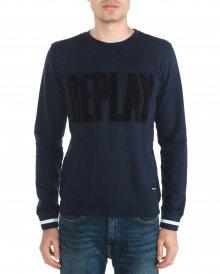 Mikina Replay | Modrá | Pánské | XL