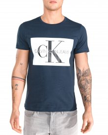 Triko Calvin Klein | Modrá | Pánské | L