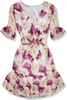 Květinové šaty s volány Pandora