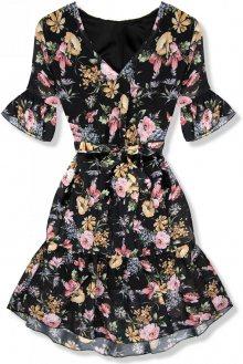 Květinové šaty s volány Rose