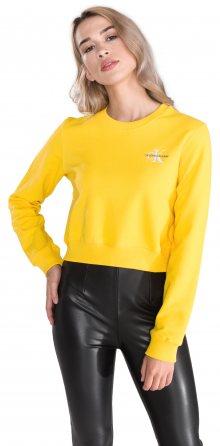 Monogram Mikina Calvin Klein | Žlutá | Dámské | L