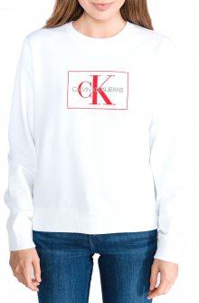 Mikina Calvin Klein | Bílá | Dámské | L
