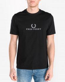 Triko Fred Perry | Černá | Pánské | M