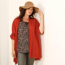 Kimono svetr červená 42/44