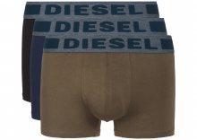 Boxerky 3 ks Diesel | Černá Zelená Hnědá | Pánské | S