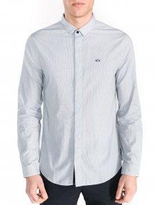 Košile Armani Exchange | Modrá Bílá | Pánské | L