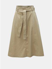 Béžová sukně VILA Bettias