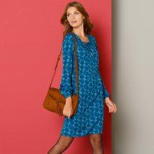 Šaty se šněrováním modrá 36