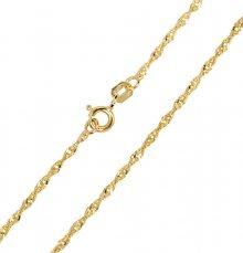 Brilio Zlatý dámský náramek Lambáda 18 cm 261 115 00197