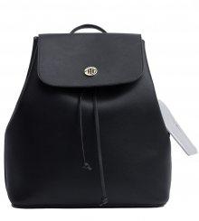 Tommy Hilfiger černý batoh Charming Tommy Black&Warm Sand